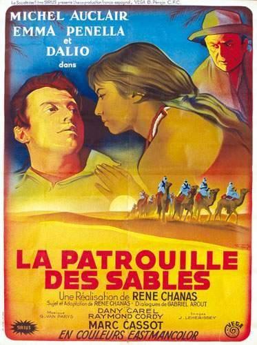 COLONIES / COLONIAL La patrouille des sables...
