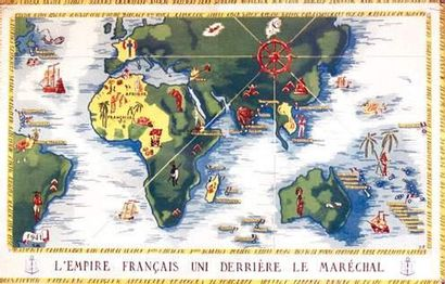 COLONIES / COLONIAL L'Empire Français uni...