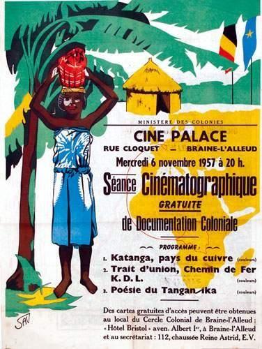 COLONIES / COLONIAL Scéance cinématographique...