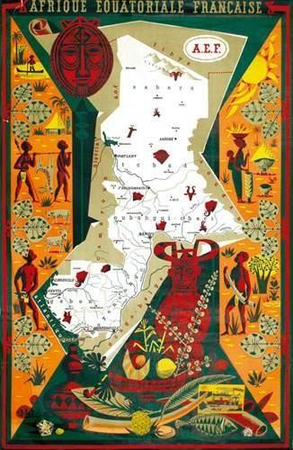 AFRIQUE / AFRICA Afrique Equatoriale Française...