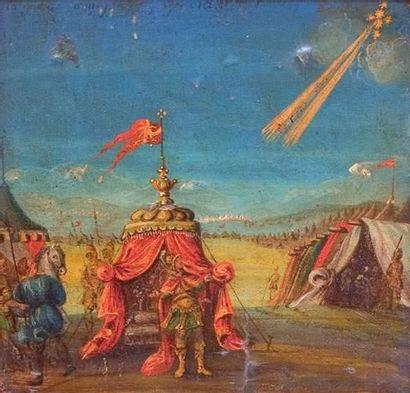 École HOLLANDAISE du XVIIIe siècle « Camp...