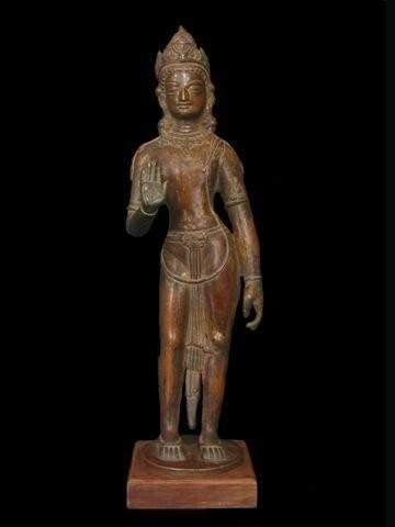 TIBET - NEPAL Bodhisattva Avalokitésvara...