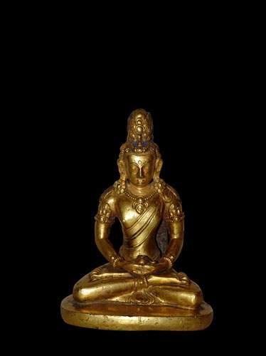 TIBET - NEPAL Représentation de « Amitayas...