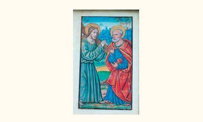 Tours ?, fin du XVe siècle, attribué au Maître...
