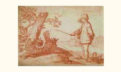 Ecole HOLLANDAISE du XVIIIe siècle, suiveur...