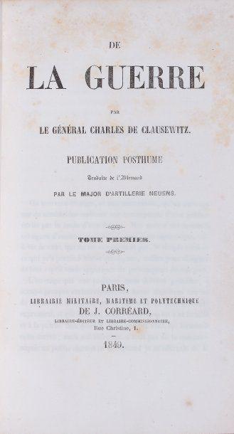CLAUSEWITZ, général Charles de