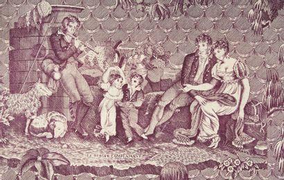 La réconciliation, Normandie en 1825, coloris...