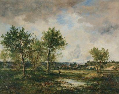 WATELIN Louis Français Victor (1838-1907) et DIAZ Narcisse de la Pena (1807-1876)