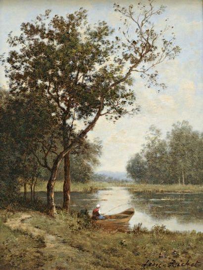 RICHET Léon (1847-1907)