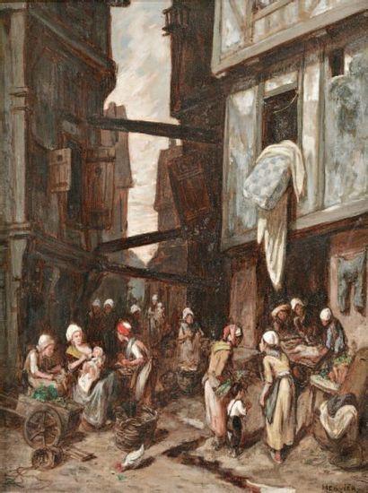HERVIER Louis-Alphonse (1818-1879)