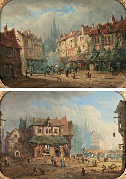 DEFAUX Alexandre (1826-1900)