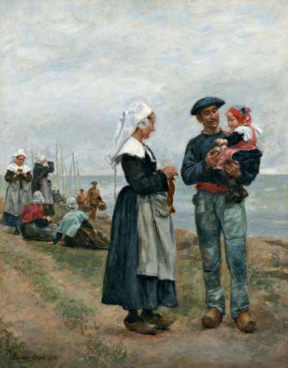 GROS Lucien Alphonse (1845-1913)