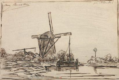 ANASTASI Auguste Paul Charles (1820-1889) Ensemble de 5 dessins 5 dessins dont 3...
