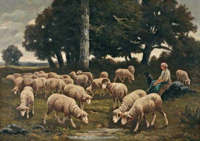 CERAMANO Charles Ferdinand (1829-1909)