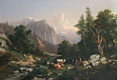 COIGNET Jules Louis Philippe (1798-1860)