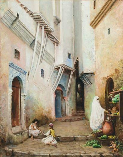 Ecole Orientaliste (XIXème siècle)