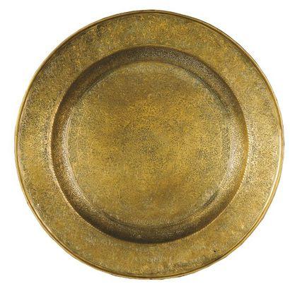 Grand plat aux entrelacs. Grand plat creux...