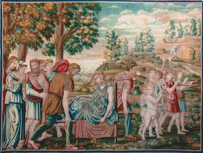 Fine tapisserie Histoire de Psyché «Atelier...