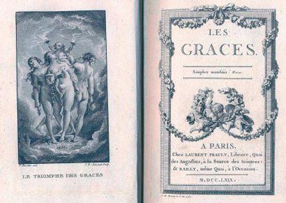 Les Graces. Paris, Prault et Bailly, 1769,...