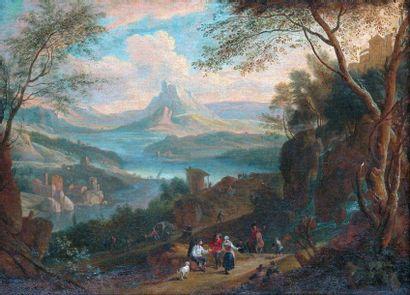 Adriaen Frans BOUDEWYNS (Bruxelles 1644 - id. 1711) et Mathys SCHOEVAERTS (1665-après 1702)