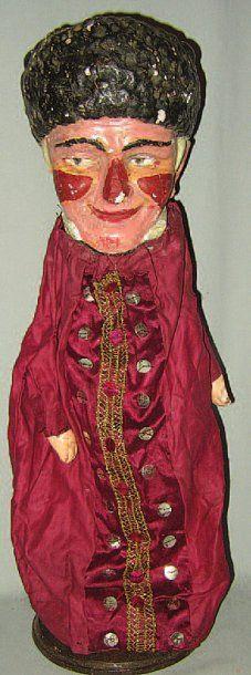 « GNAFRON », Grande marionnette à gaine avec...