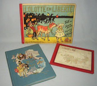 Ensemble de trois livres d'enfants, comprenant...