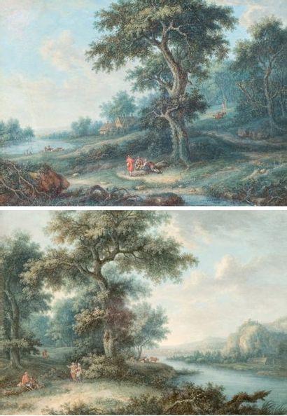 Attribué à Louis Nicolas van BLARENBERGHE (1716-1794)