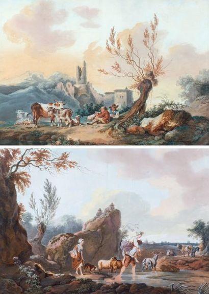 École Française du XIXe siècle, dans le goût du XVIIIe siècle