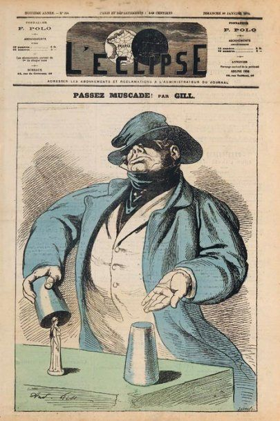 Dix premières pages de journaux : escamoteurs,...