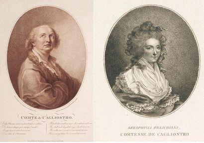 Cinq portraits de Cagliostro. 1. Le comte...