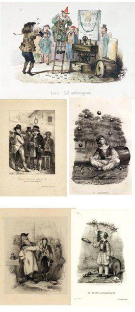 Ensemble de 5 gravures 1.