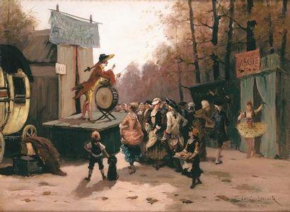 Louis LECOMTE Magie et théâtre de Tabarin....