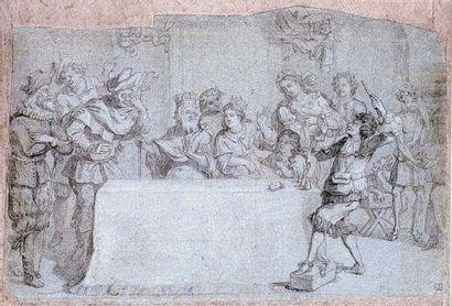 Charles Antoine COYPEL (1694-1752) (Attr....