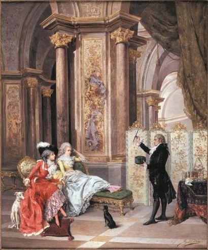 Ignace SPIRIDON (act. 1869-1900). Divertissement...