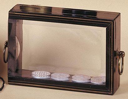 Le coffre de cristal (fabrication Voisin)...