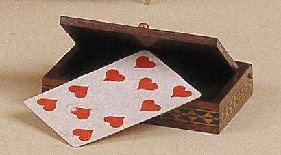 Boîte à la carte de Johann Nepomuc Hofzinzer....