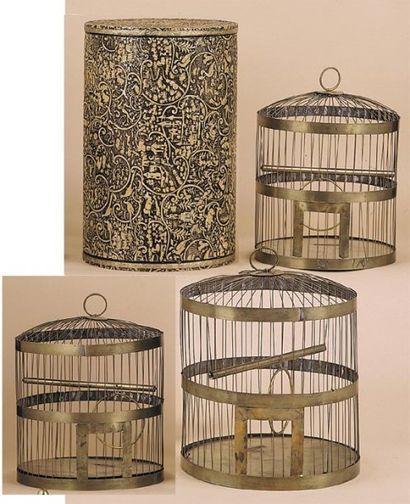 Boisseau géant à production de trois cages....