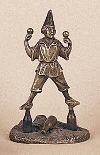 213-214 : Equilibriste jongleur sur deux...