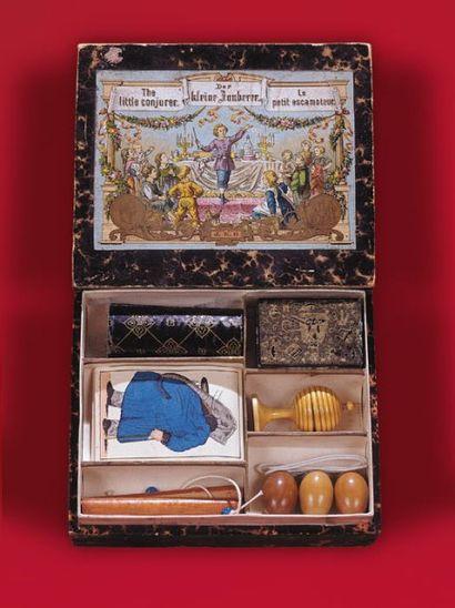 Boîte d'origine allemande (vers 1880) The...