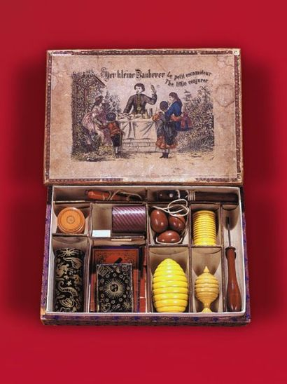 Boîte d'origine allemande (vers 1870)