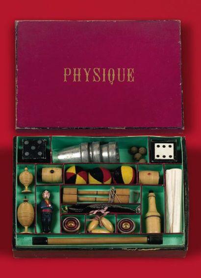 Boîte de physique Contient :