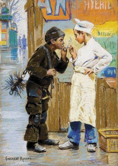 Paul CHOCARNE - MOREAU (1855 - 1931)