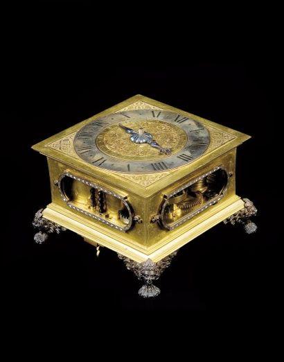 Seydell in Berlin, vers 1660. Horloge de...