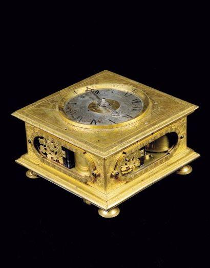 Martin Zoller, Augsburg, Vers 1650 Horloge...