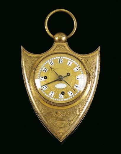 Vienne, vers 1825. Belle et rare montre de...