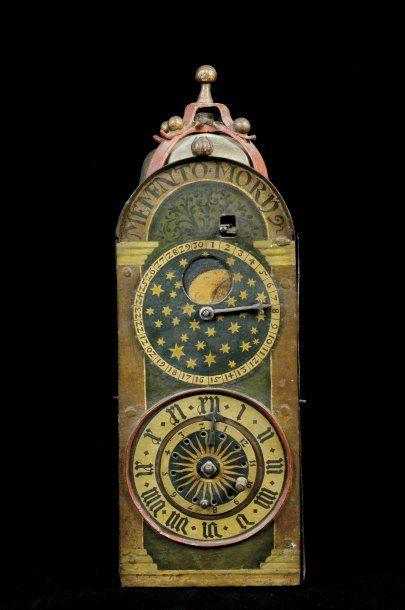 intérieur de la 48 Horloge de paroi astronomique...