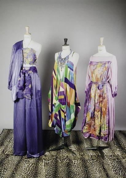 Robes et bijoux Paco RABANNE
