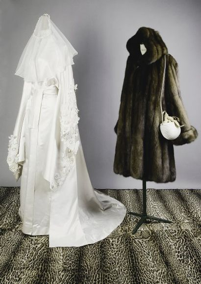 Robe de mariée PACO RABANNE  9/10ème en...