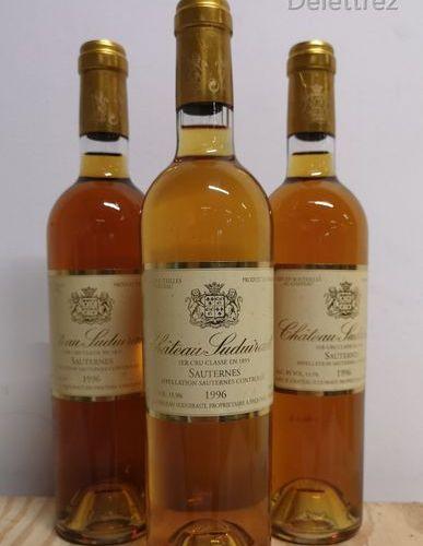 CHÂTEAU SUDUIRAUT 1er Gcc Sauternes 1996 3 50cl