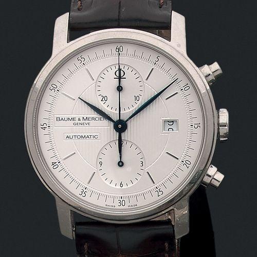 Baume & Mercier Genève Vers 2000. Ref 65560. N°4768796 Chronographe homme 2 comp…